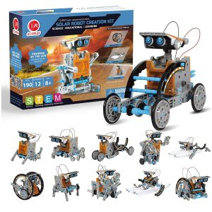 CIRO STEM Projects 12-in-1 Solar Robot Toys Best Gifts for 8-Year-Old Boys