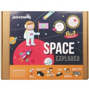 Jack In The Box Space Educational STEM Toy