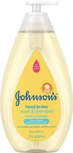 Johnson's Head-To-Toe Gentle Baby Wash & Shampoo