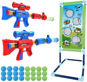 Springflower Shooting Game Toy