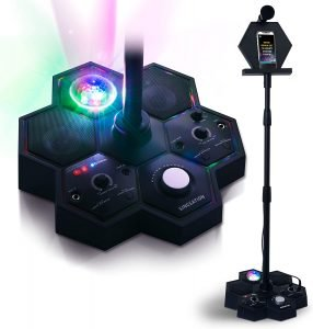 Best Karaoke Machine With Stand - Singsation All-In-One Karaoke System & Party Machine