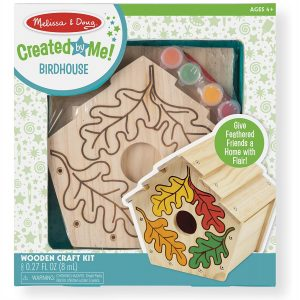 Melissa & Doug Created by Me! Birdhouse Build-Your-Own Wooden Craft Kit