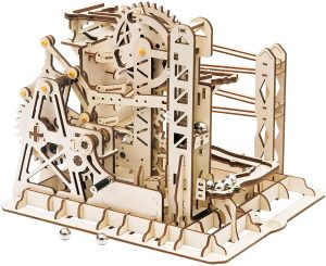 Rowood 3D Wooden Marble Run Puzzle Craft Toy