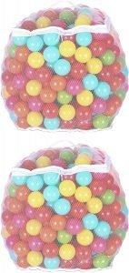 BalanceFrom 2.3-Inch Play Balls Pit Balls- 6 Bright Colors