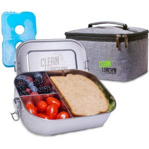 Clean Lunch'N Bento Box Best Stainless Steel Lunch Box