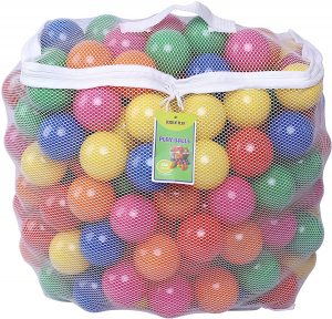 Click N' Play Pack of 200 Plastic Ball