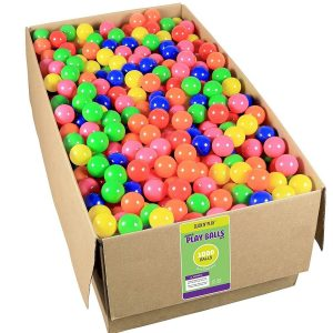 Click N' Play Value Pack 1000 Pit Balls 6 Bright Colors